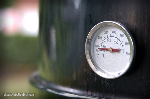 MeatIsNotASideDish Meat Smoker Thermometer