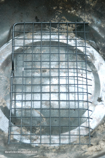 MeatIsNotASideDish Grate in Bowl