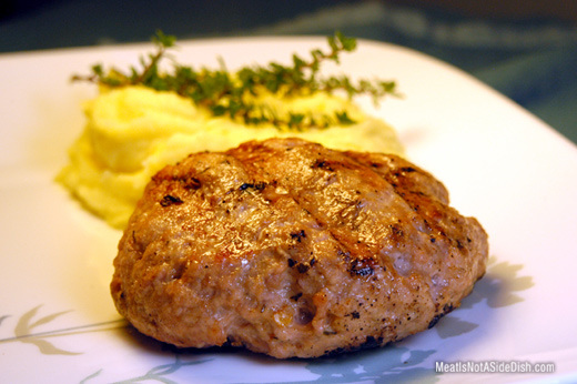Ground Pork Patties