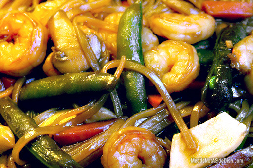 MeatIsNotASideDish Shrimp Stir Fry Recipe