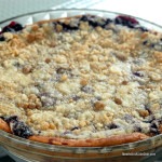 MeatIsNotASideDish Blueberry Pie with Cinnamon Roll Crust Recipe