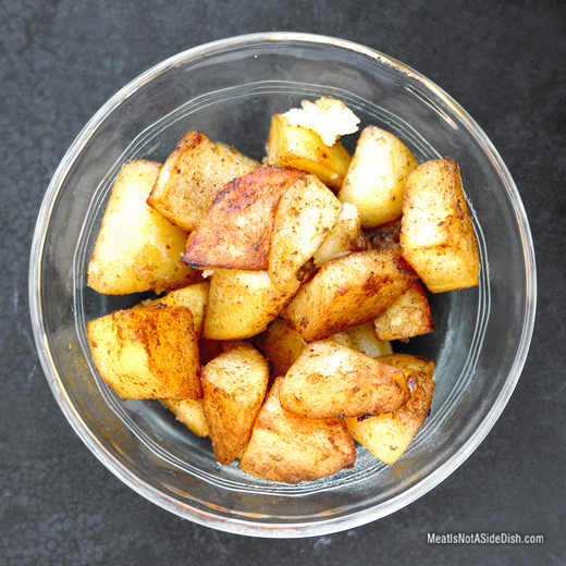 Crispy Baked Chili Pepper Potatoes