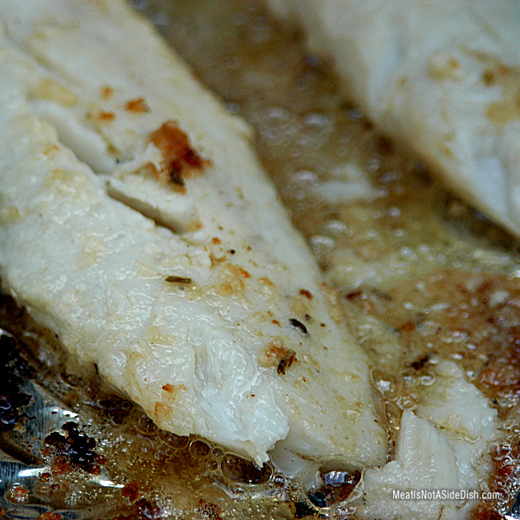 Parmesan-Mayo Grilled Tilapia