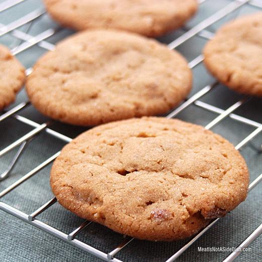 Gluten Free Peanut Butter Pretzel Cookies