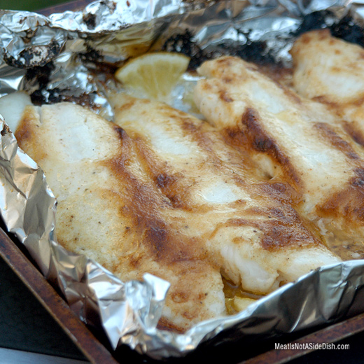 Old Bay Grilled Fish