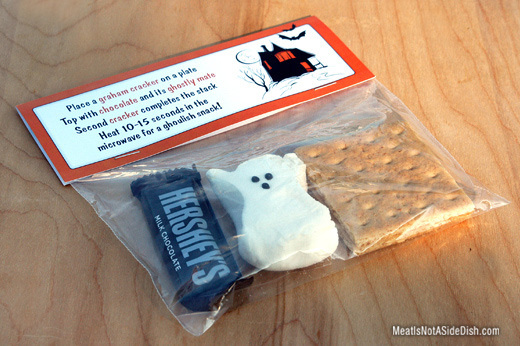 MeatIsNotASideDish Halloween Smores Treat