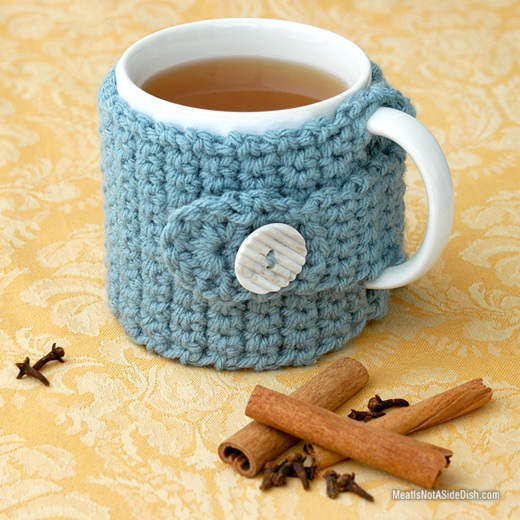 Wassail & Crochet Cozy with FREE Pattern