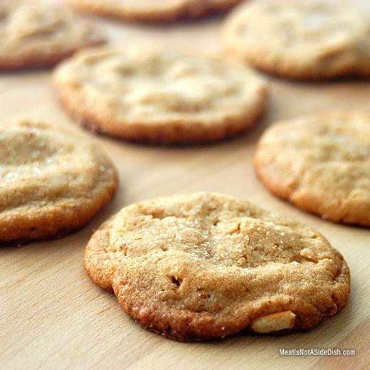 Salted Peanut Butter Pretzel Cookies - Gluten Free